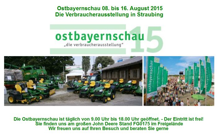 events ostbayernschau 2015